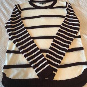 Staccato striped sweater medium